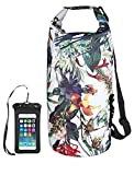 OMGear Waterproof Dry Bag Backpack Waterproof Phone Pouch 40L/30L/20L/10L/5L Floating Dry Sack for Kayaking Boating Sailing Canoeing Rafting Hiking Camping Outdoors Activities (camouflage1, 40L)