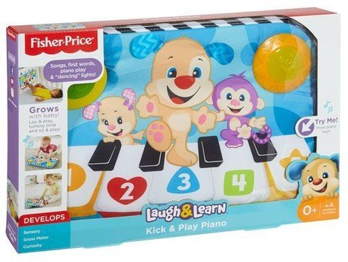 Fisher-Price Laugh & Learn Kick & Play Piano, Multi color Fisher Price Infant Crib