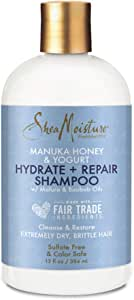 SHEA MOISTURE Manuka Honey and Yoghurt Hydrate and Repair Shampoo, 384 ml