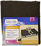 Silver Tails Bamboo Charcoal Rectangular Dog Bed Cover, Small/Medium