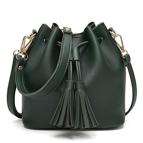 Green Suede Bag Zara - 4