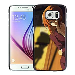 Custom Anime Girls Sadness Shadow Care Posture Samsung Galaxy S6 SM-G920A SM-G920P SM-G920R4 SM-G920T SM-G920V cell phone case