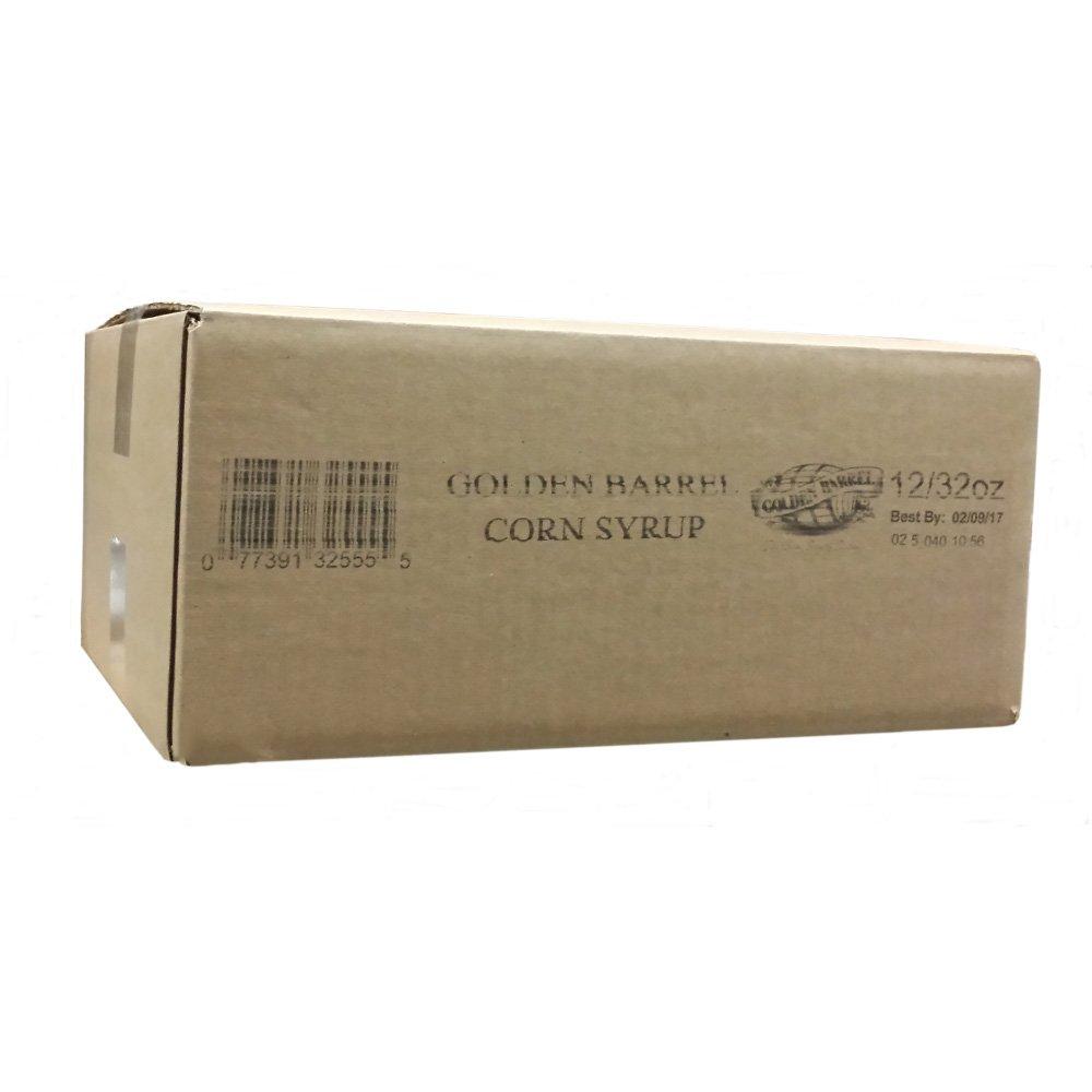 Golden Barrel Corn Syrup (12/32 flo. oz. Case) by Golden Barrel