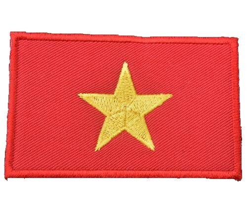Backwoods Barnaby Vietnam Flag Patch with Hook