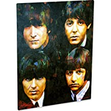 Beatles art prints wall decor on metal by Mark Lewis Art - ff - Lewis is a living descendant of Cy Young the baseball legend