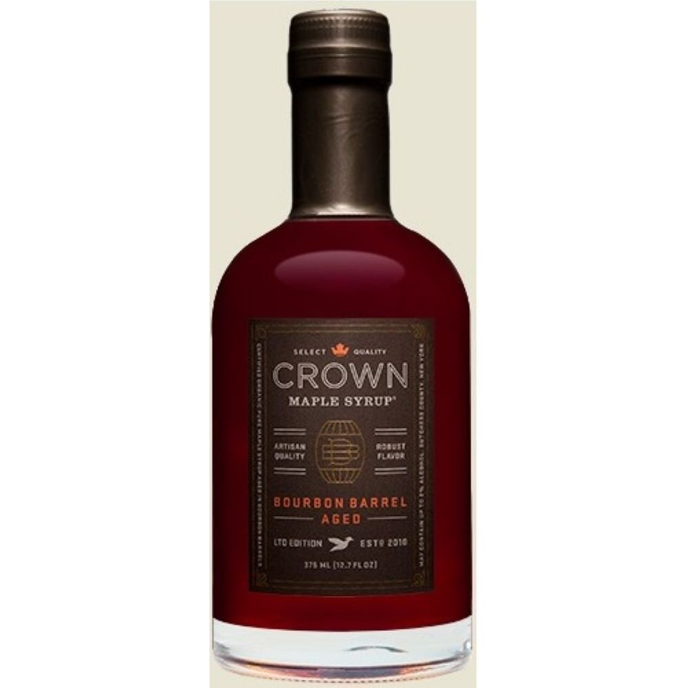 Crown Maple Syrup, Bourbon Barrell Aged, 12.7 Oz (Pack of 6)