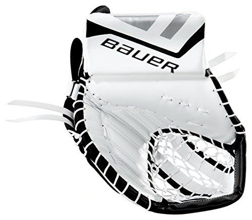 Bauer Junior ONE.5 Catch Glove, White/Black/Silver, Full Right