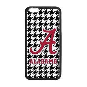 Hoomin NCAA Alabama Crimson Swallow Gird Pattern iPhone 6plus 5.5