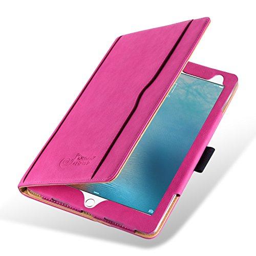 iPad Pro 10.5 Case - The Original Pink & Tan Leather Smart C