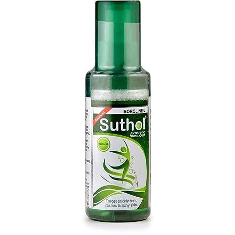 2eaa796ec Buy BOROLINE's SUTHOL Natural Antiseptic Skin Liquid 100 ml Pack of ...