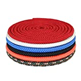 Cheap Nylon Diamond Braid (3/16 inch) – SGT KNOTS – Twisted Nylon Core – Durable Utility Rope – for Crafting, Mooring, Boating, Camping, Fishing, Garden, DIY Projects (50 ft – Neon Orange)
