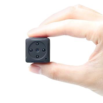 8Go Mini Camera Espion, UYIKOO HD 1080P Portable sans Fil Nanny Caméra  Cachée Spy avec bf3cb0a9880f