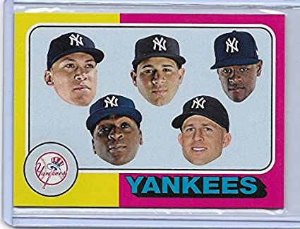 2017 Topps TBT card  140 from Set 23 New York Yankees Postseason Team 1975  Design d1ea5254c09