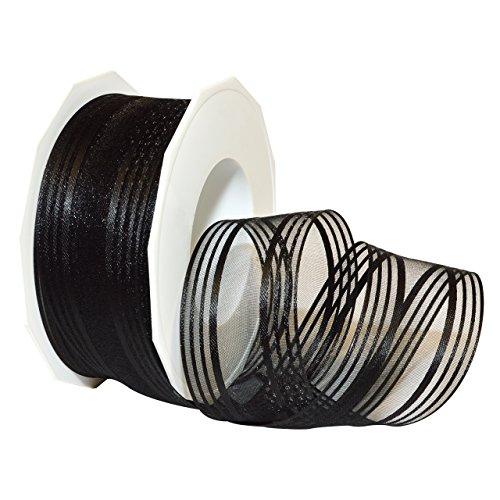 Morex Ribbon Palma French Wired Acetate Ribbon, 1-1/2