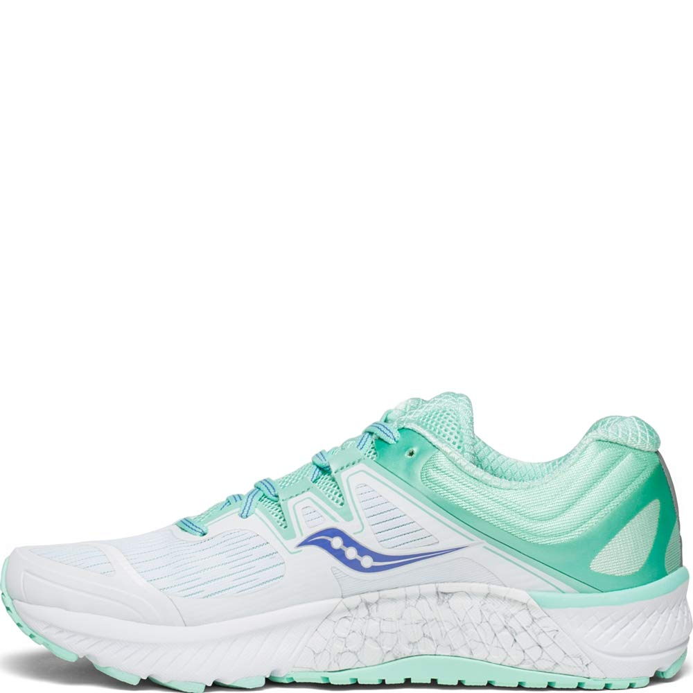 Saucony Saucony Guide ISO (WhiteAqua) Women's Running Shoes from Zappos   People