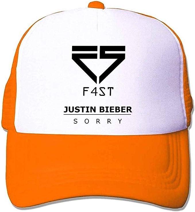 Diana Gargano Custom Justin Bieber F4ST Logo Sorry Trucker Hat ...