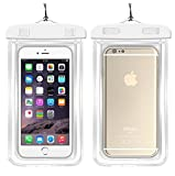 """Waterproof Case Universal CellPhone Dry Bag Pouch CaseHQ for Apple iPhone 8,8plus,7,7plus,6s, 6, 6S Plus, SE, 5S, Samsung Galaxy S7, S6 Note 7 5, HTC LG Sony Nokia Motorola up to 5.8"""" diagonal"""