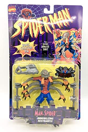 Toy Biz Spider - Spider-Man Animated Series Man-Spider Action Figure
