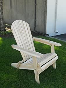 Amazon.com: Living Accents Folding Adirondack Chair ...