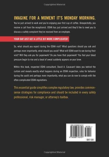 Amazon surviving the osha audit common sense solutions to your amazon surviving the osha audit common sense solutions to your most feared osha compliance issues 9780998743707 david a casavant books fandeluxe Choice Image