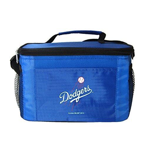 New MLB Baseball 2014 Team Color Logo 6 Pack Lunch Bag Cooler - Pick Team (Los Angeles Dodgers) (Dodgers Lunch)