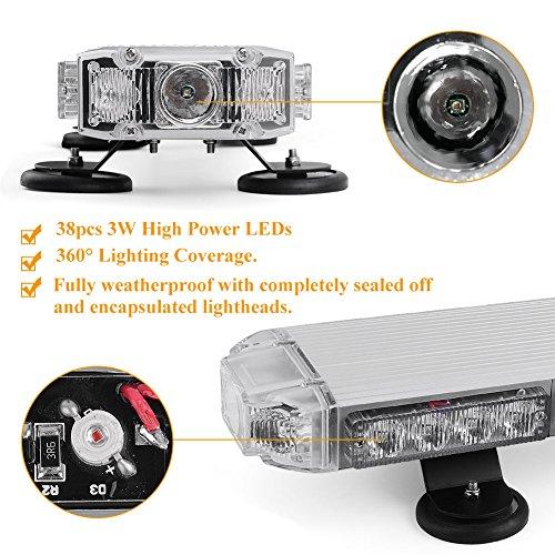 Emergency-Mini-LED-Light-bar-YITAMOTOR-21-3-Watt-Low-Profile-Magnetic-Roof-Mount-Strobe-Light-Bar-for-All-12v-Emergency-Vehicle