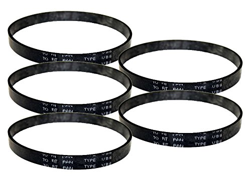 Panasonic 7300 Series Vacuum (5 Pack) Replacement Flat Type UB8 Belt # (Flat Vacuum Belt)