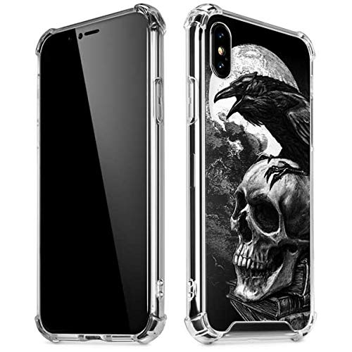 Amazon.com: Skinit Alchemy - Poes Raven iPhone XR Clear ...