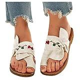 Hotkey Sandals for Women, 2021 Summer Women's Platform Sandals Casual Slip-On Straw Open Toe Summer Sandal