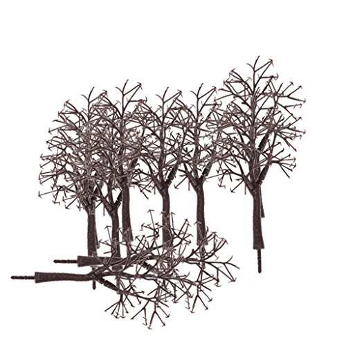 10pcs 12cm Scenery Landscape Model Bare Trunk Tree