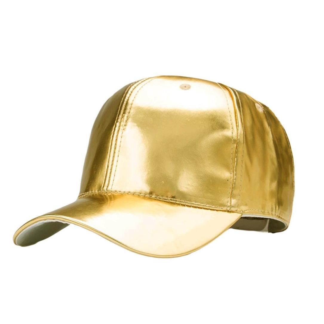 30a52df5a5e933 Dasongff Mode Frauen Männer Baseballkappe Einstellbare Leder Baseball Cap  Hip Hop Hüte Lässige Outdoor Kappe Mütze (Beige): Amazon.de: Sport &  Freizeit