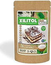 Xylitol Zoetstof 100% Natuurlijk 500gr DulciLight   Finse Berkensuiker   Suikervervanger   Veganistisch Zoetstof   Laag in calorieën   Ideaal voor uw voorbereidingen  
