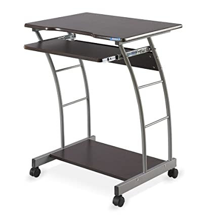 Nilkamal Leo Computer Trolley/Table (Brown)