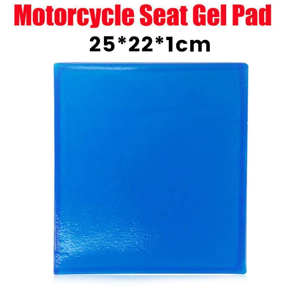 mehrere Gr/ö/ßen Lucky-all star Motorrad Sitz Gel Pad Sto/ßd/ämpfungsmatte weiches Kissen blau bequem weich k/ühlen Kissen DIY Motorrad Sattel