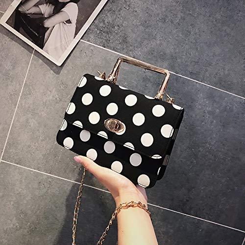 borsa borsa rosso femminile messenger a borsa Piccola a coreana nero quadrata tracolla marea fresco della tracolla selvaggio moda borsa versione WSLMHH della Tq4xvwnR