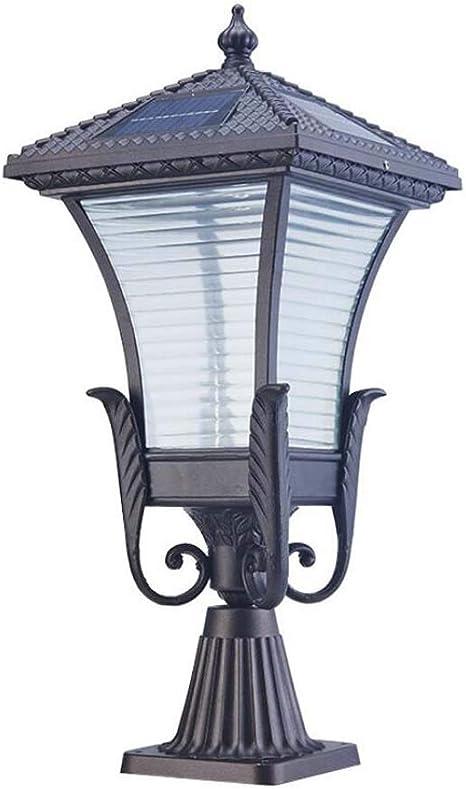 Luces solares de LED, lámpara Impermeable Exterior de Piso, Luz de ...