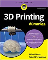 3D Printing For Dummies, 2nd Edition Front Cover