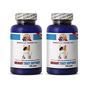 PETS HEALTH SOLUTION Urinary Tract Infection in Cats - Premium Urinary Tract Support - CAT Treats - Natural and Healthy - cat Cranberry Urinary - 180 Treats (2 Bottle) 21