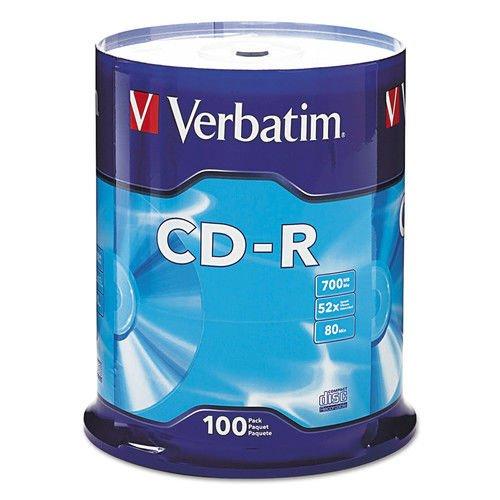 Verbatim 94554 CD Recordable Media - CD-R - 52x - 700 MB - 1