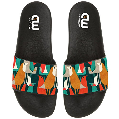 Women Birds Beach Summer Slipper Outdoor Kid Sandal For Flock Slide of Shoes Boy Girl Cartoon Men EHw7S8qS