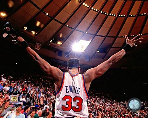 Size: 8 x 10 NBA Patrick Ewing New York Knicks Action Photo