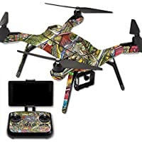 Skin For 3DR Solo Drone – Fish Puzzle   MightySkins Protective, Durable, and Unique Vinyl Decal wrap cover   Easy To Apply, Remove, and Change Styles   Made in the USA
