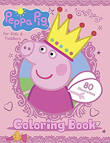 Peppa Pig Coloring Book For Kids And Toddlers Easy Coloring Pages 80 High Quality Illustrations In Dubai Uae Whizz Potpourri