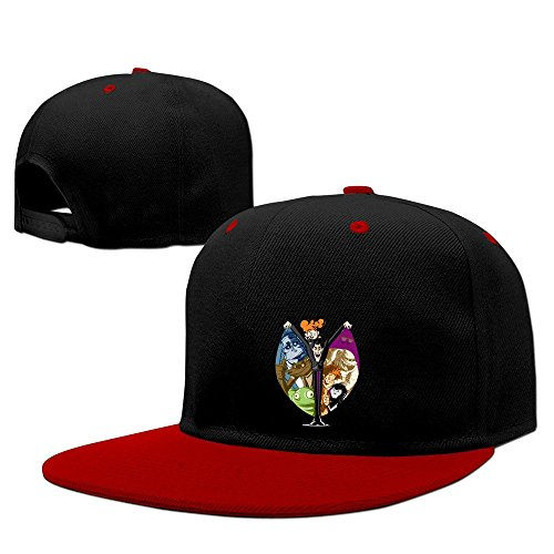 YLSD Hotel Transylvania Baseball Adjustable Hip Pop Cap Cool Hat Unisex,men And Women Red (Danny Castle Halloween)