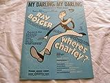 img - for MY DARLING MY DARLING CY FEUER 1948 SHEET MUSIC FOLDER 447 SHEET MUSIC book / textbook / text book
