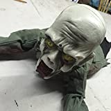 NB.SD Wehaloon Crawling Zombie Halloween Prop Crawlers Skeleton Bloody Haunted House Decoration