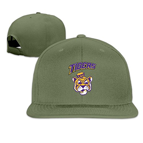 Raider Mascot Costume (ElishaJ Casual Louisiana State University Trucker Caps Hat ForestGreen)