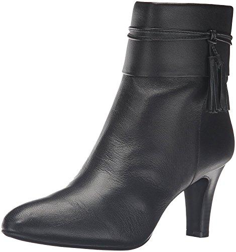 Bandolino Women's Willaria Boot, Black Leather, 10 M ()