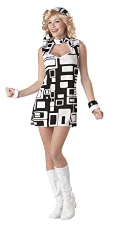 5a2069ba553e Amazon.com  California Costumes Austin Powers Groovy Disco Costume ...