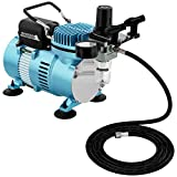 Master Airbrush 1/5 HP Cool Runner II Dual Fan Air Compressor Kit...